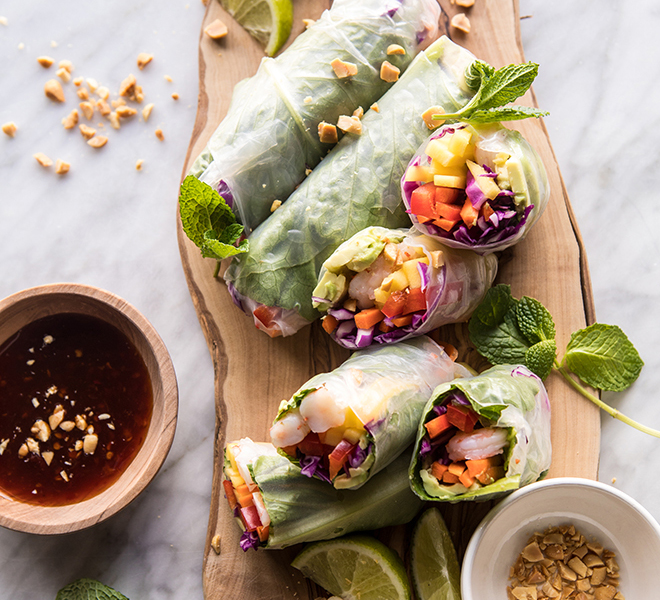 Recipe Box: Shrimp and Mango Summer Rolls