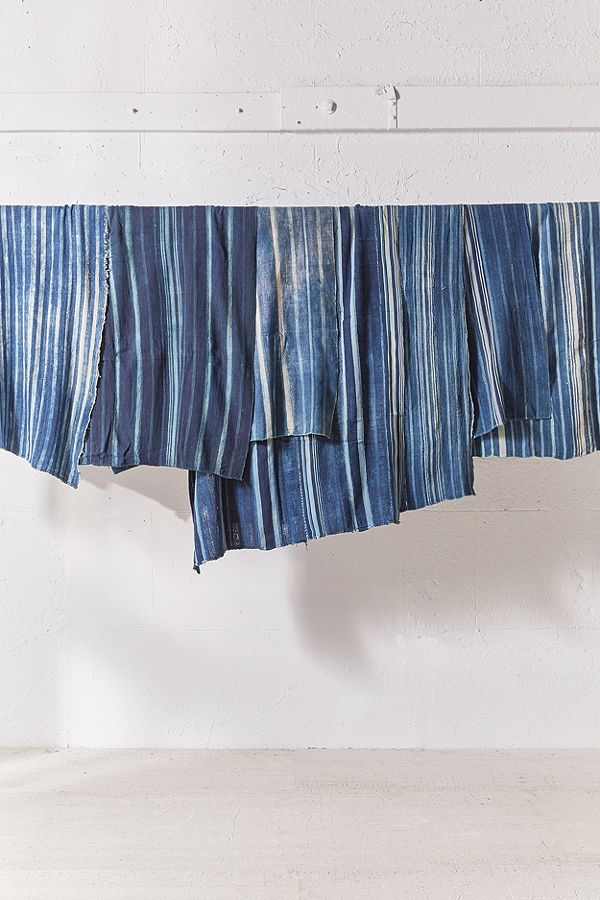urban outfitters one-of-a-kind vintage indigo textile