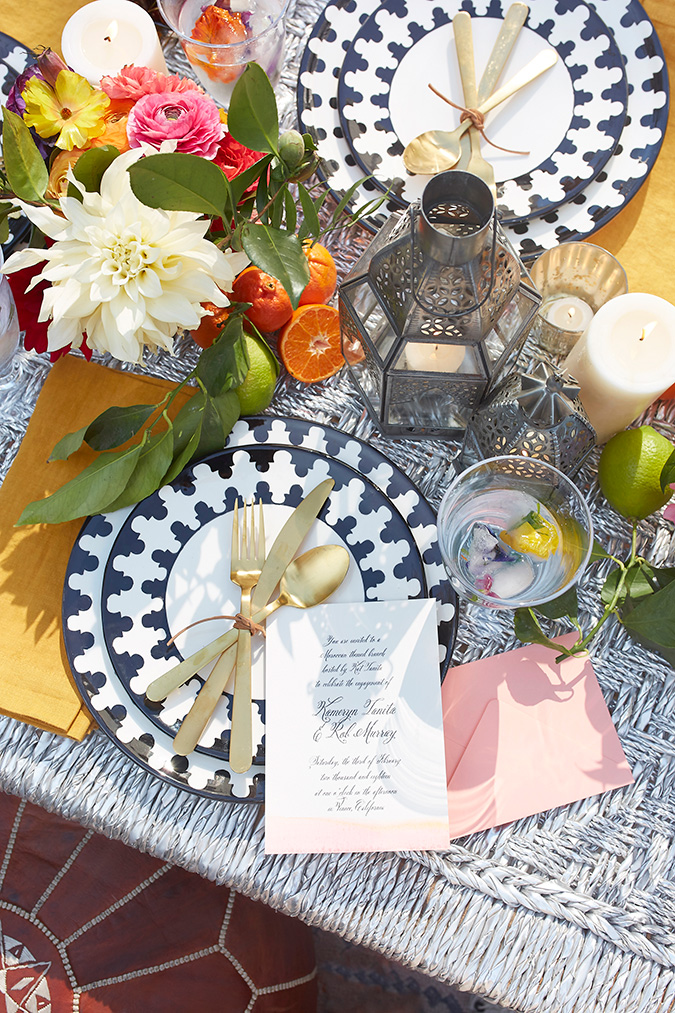 moroccan inspired engagement party via laurenconrad.com