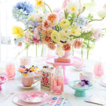 Party Planning: A Bright & Colorful Floral Mother's Day Celebration