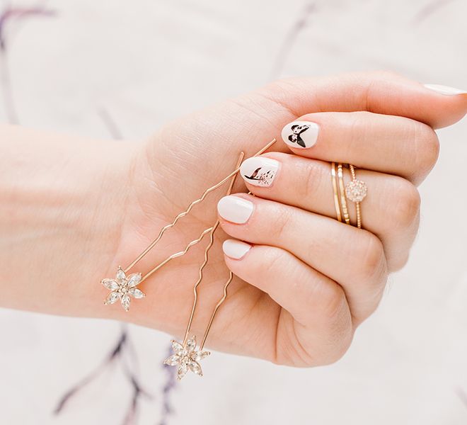 Beauty DIY: LC Lauren Conrad Inspired Nail Art with Olive & June