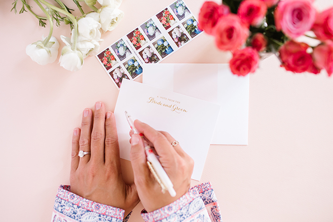 The Foolproof Thank You Note Formula according to LaurenConrad.com