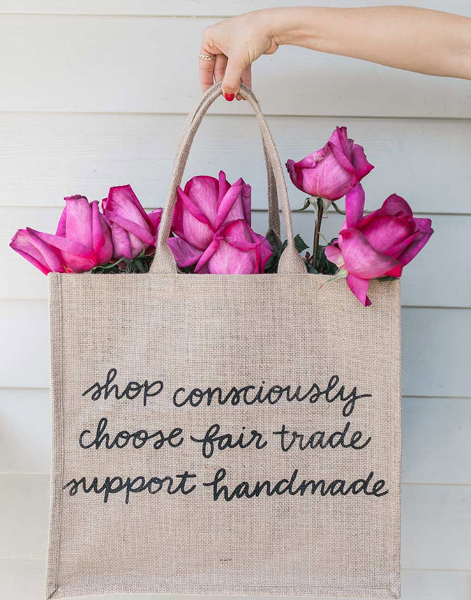 how to go green, starting with your groceries | via laurenconrad.com