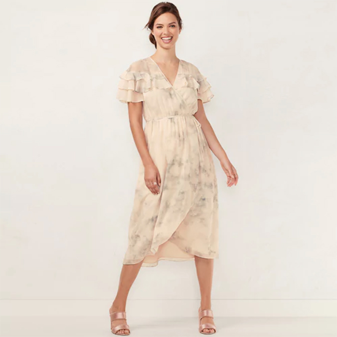 8182a8e5769 Style Guide  This Season s Wrap Dress - Lauren Conrad