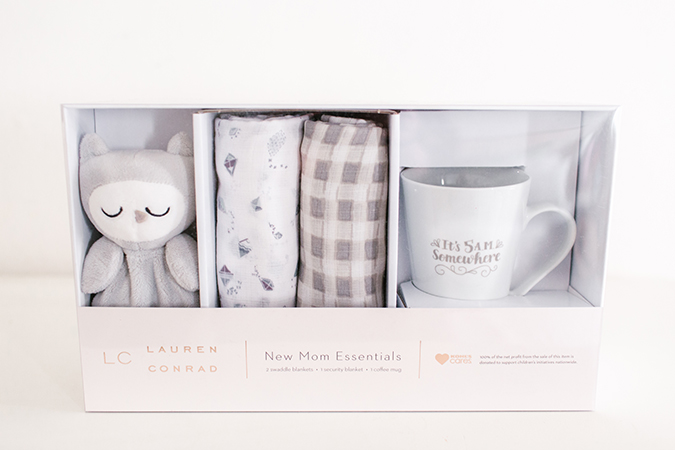 LC Lauren Conrad new mom essential kit