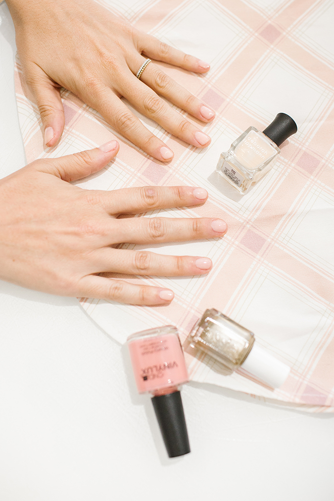 Olive and June x LC Lauren Conrad DIY mani