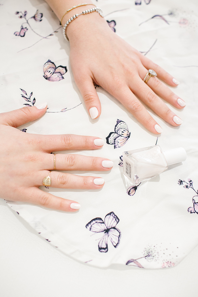 DIY mani with Olive and June, inspired by LC Lauren Conrad prints