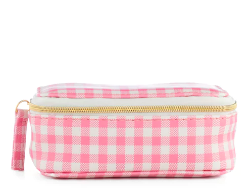 LC Lauren Conrad gingham travel jewelry case