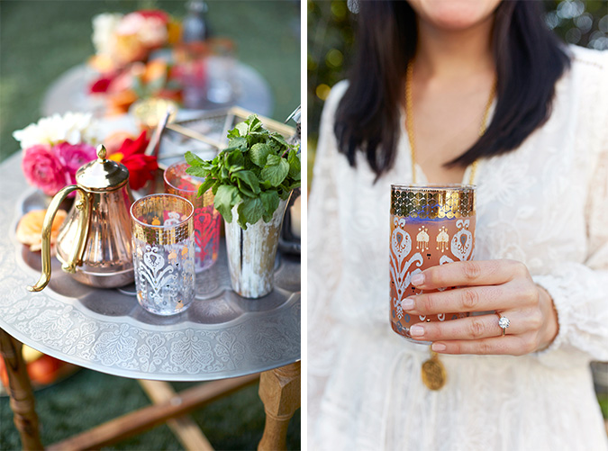 moroccan inspired party details
