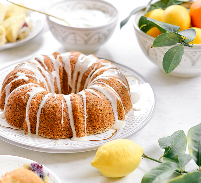 Recipe Box: Sweet Laurel Lemon Poppy Seed Bundt Cake