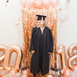DIY: A Rose Gold Graduation Party Balloon Setup