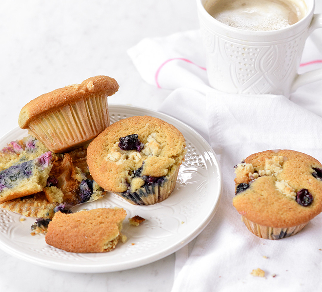 Recipe Box: Sweet Laurel Blueberry Streusel Breakfast Muffins