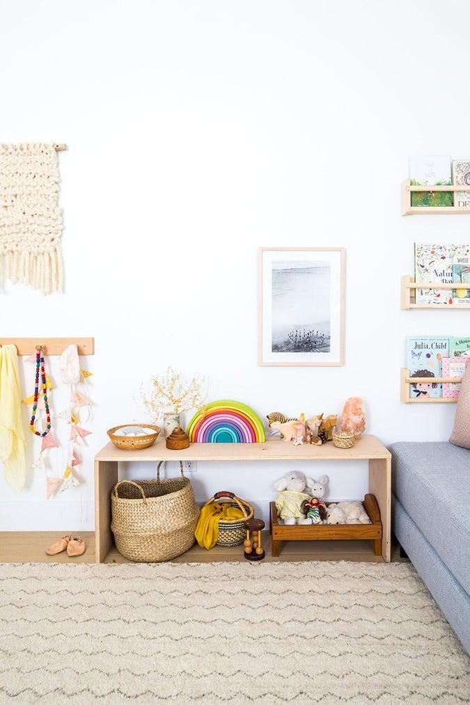 sweet nature inspired nursery via laurenconrad.com