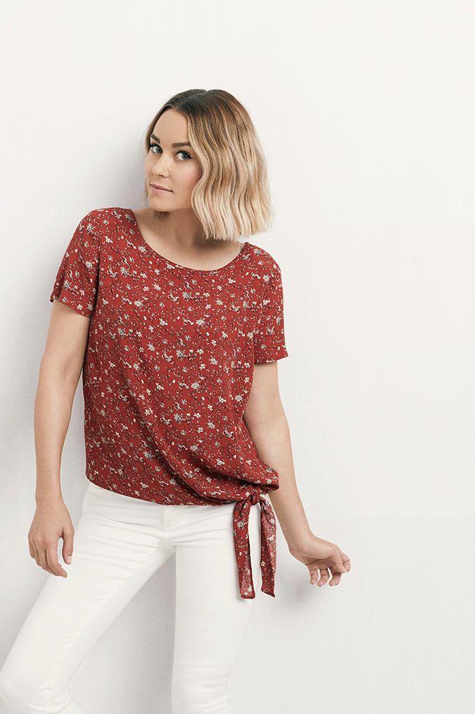 f456eba242 lauren conrad wearing her latest collection for kohl's
