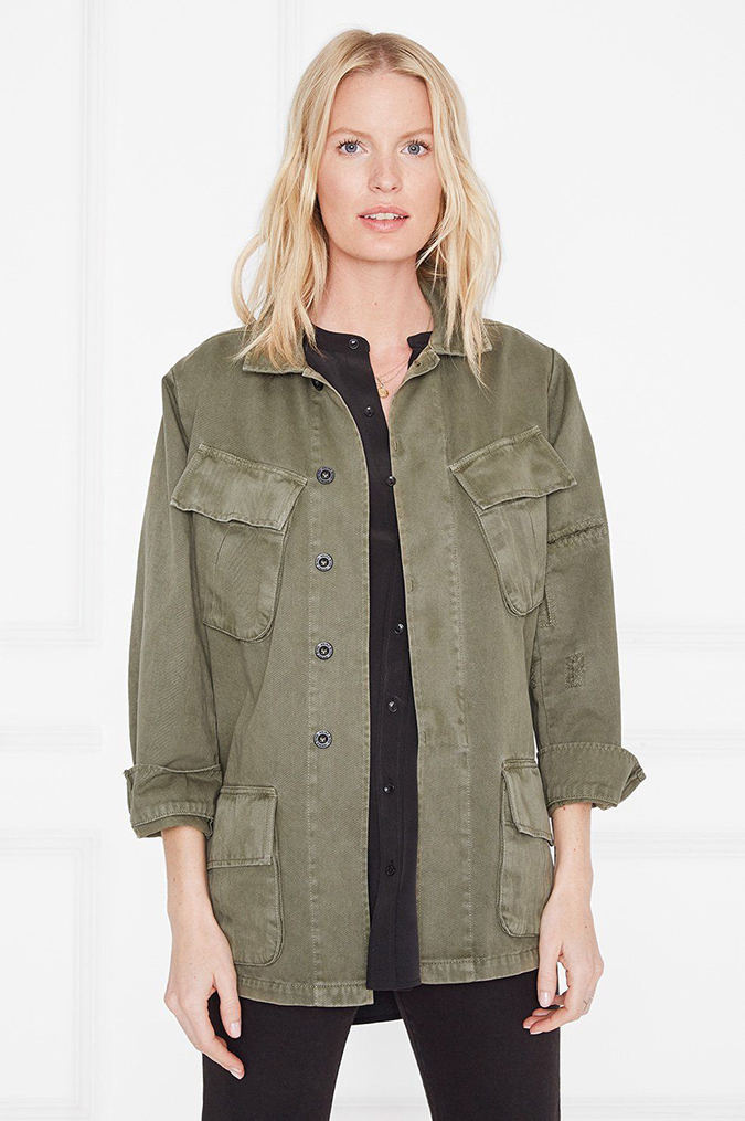 anine bing clark military jacket