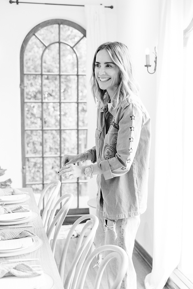 light-filled luncheon for Anine Bing featured on laurenconrad.com