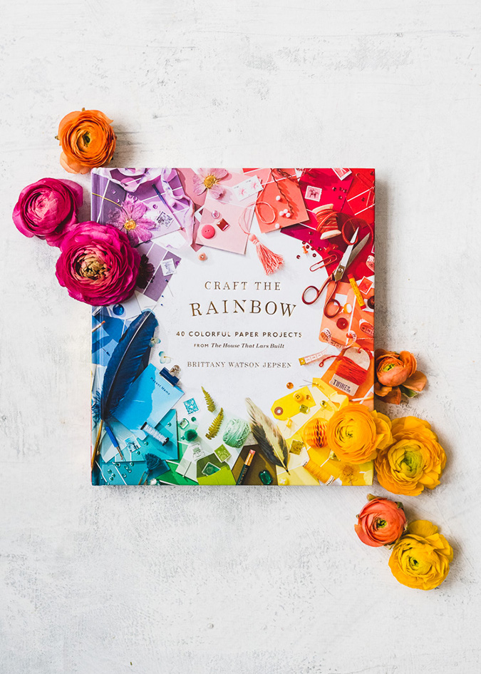 Craft the Rainbow book by the creators of The House That Lars Built