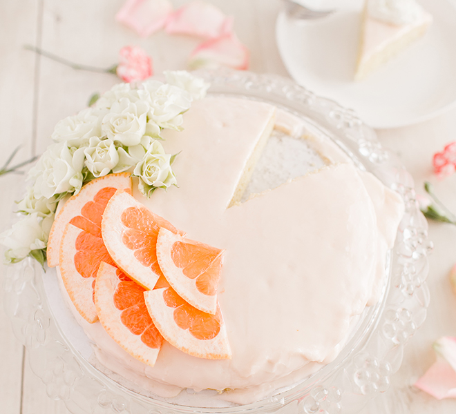 Edible Obsession: Grapefruit Cake