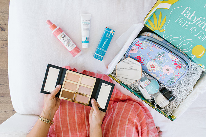 summer FabFitFun box via laurenconrad.com