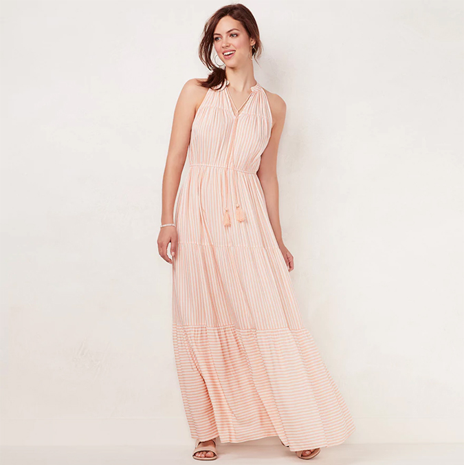 LC lauren conrad maxi dress