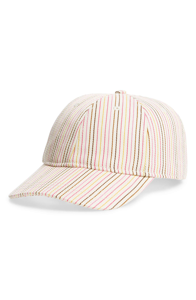 Madewell striped baseball cap