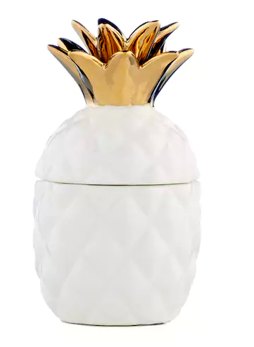 LC lauren conrad pineapple trinket box