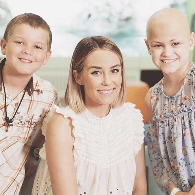 Lauren Conrad at St. Jude Children's Hospital