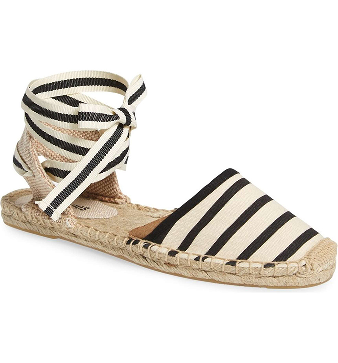 soludos lace up sandal