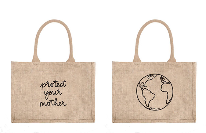 protect your mother shopping bag from the little market