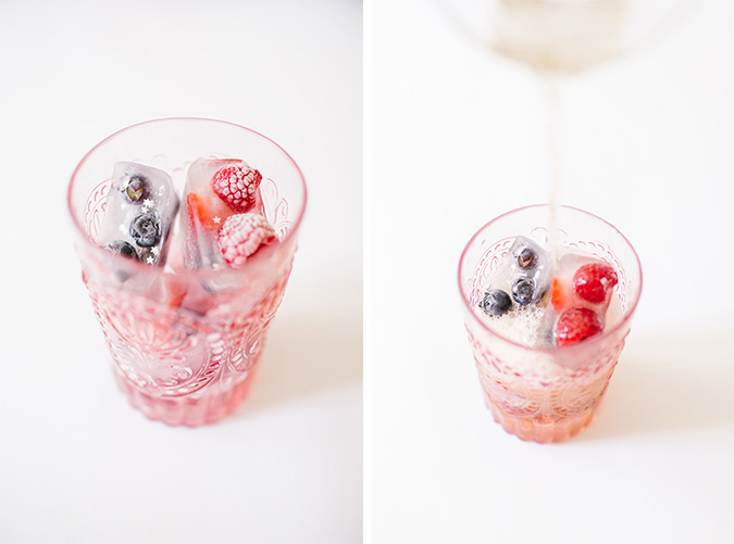 DIY memorial day ice cubes via laurenconrad.com