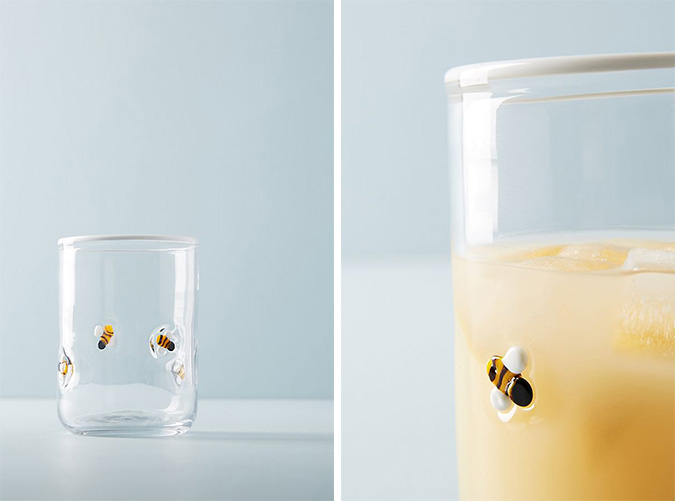 anthropologie lola juice glass