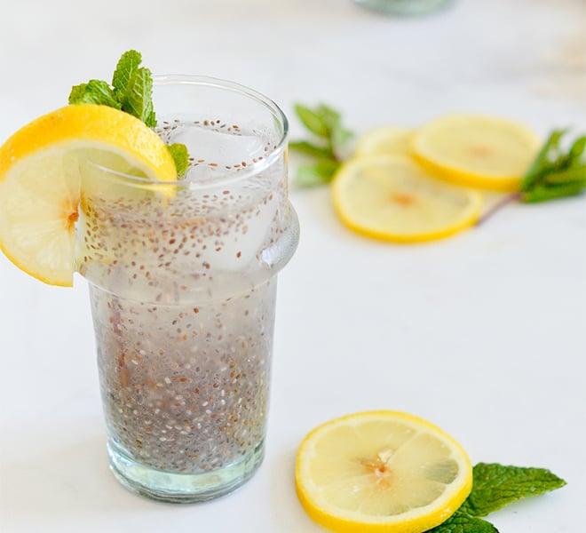 Lovely Libations: Healthy Chia Seed Lemonade