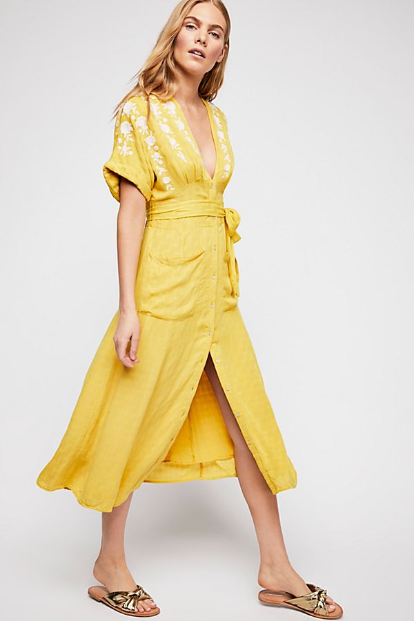 free people embroidered sundress