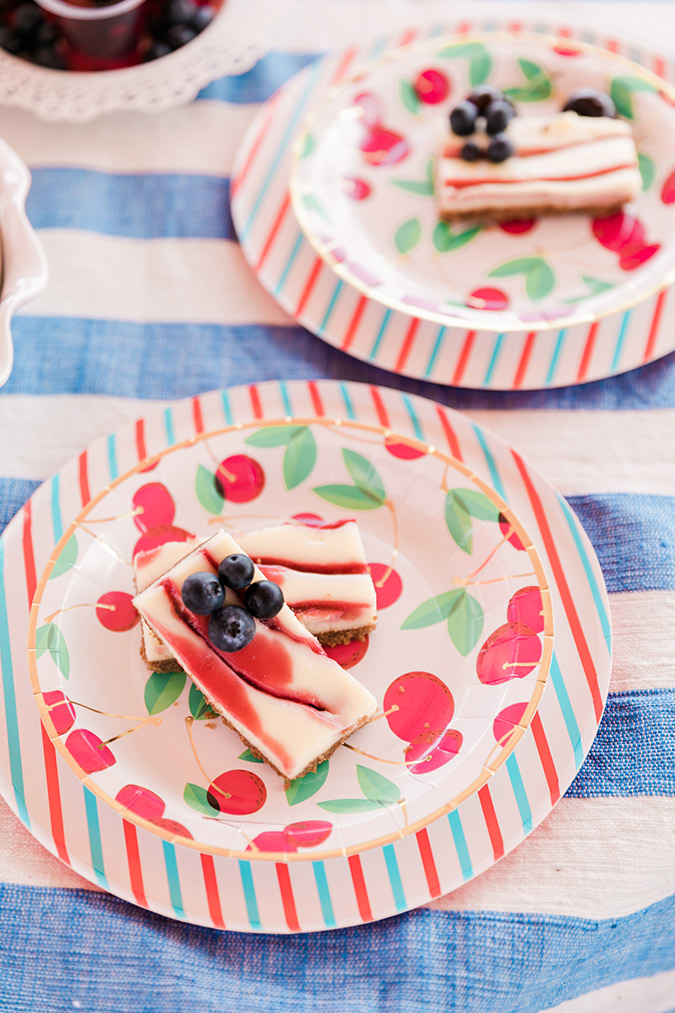 fourth of july inspired desserts via laurenconrad.com