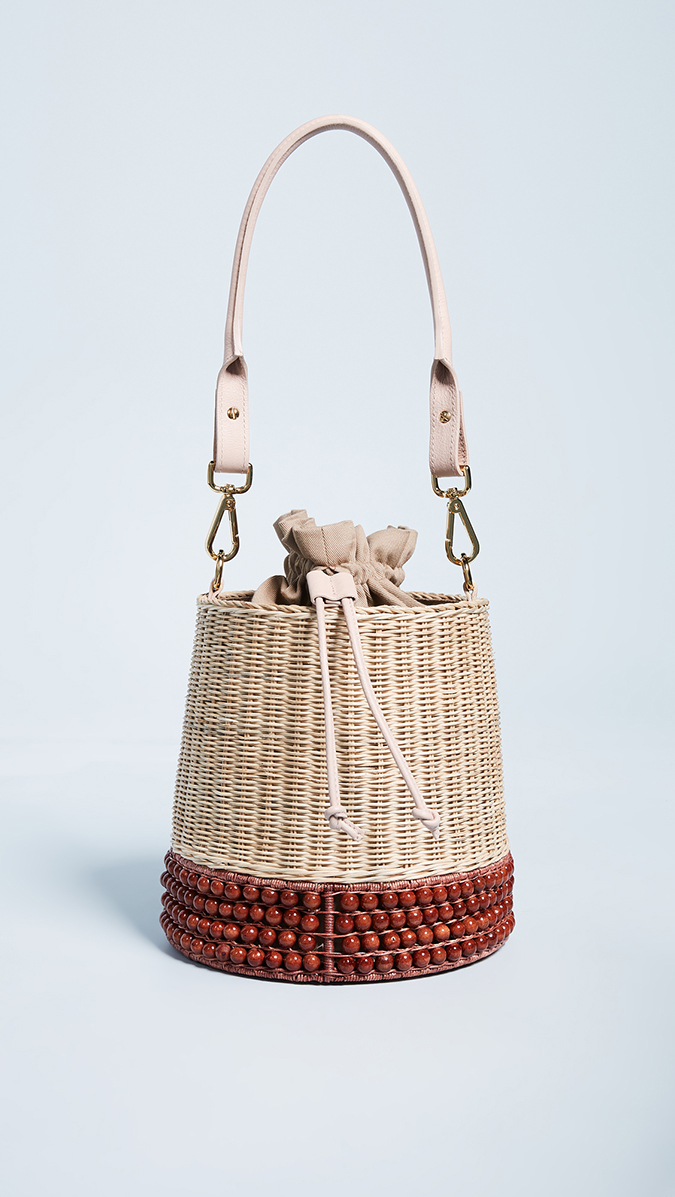 Lucy Folk bucket bag