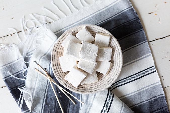 ultimate s'mores with smoked homemade marshmallows via laurenconrad.com