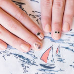 Nail Files: Our Olive & June Sailboat Mani Inspired by LC Lauren Conrad