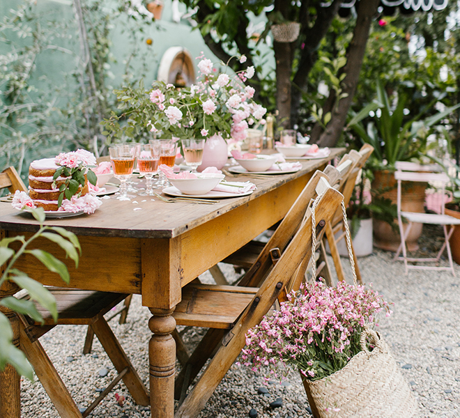 Party Planning: A Perfectly Pink Rosé Tasting Luncheon