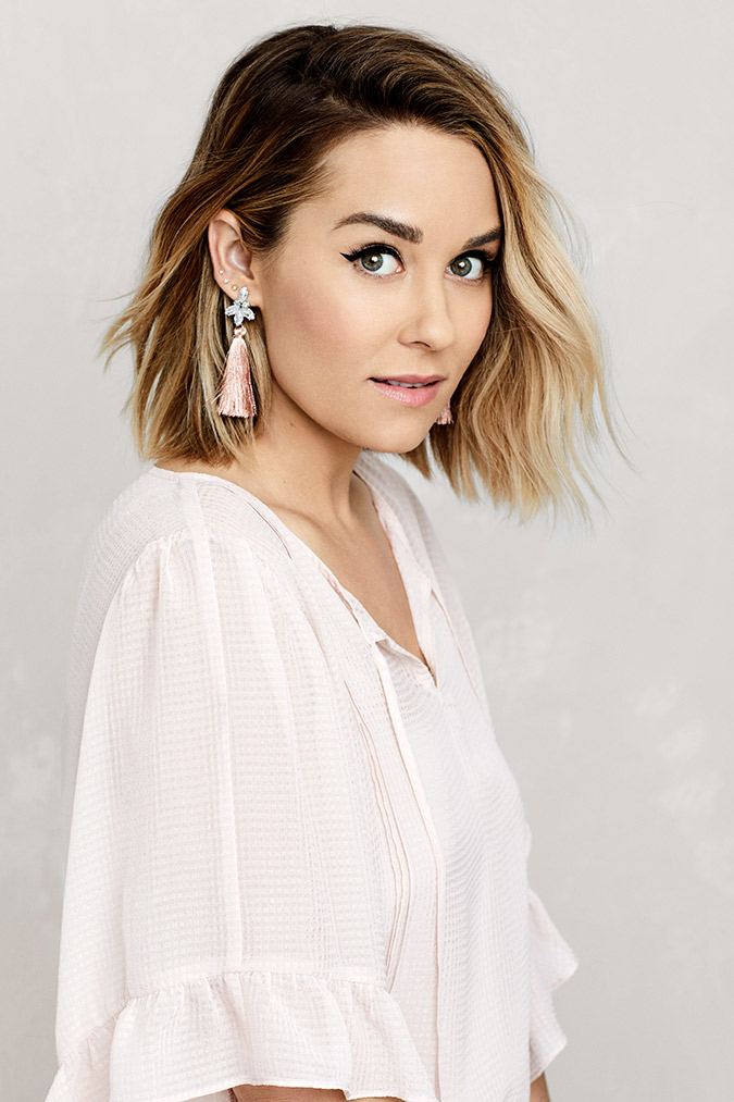 5 ways to style short hair via laurenconrad.com