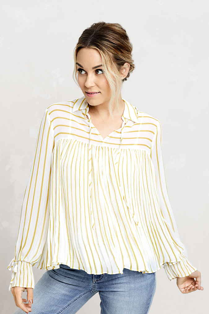 Lauren Conrad wearing LC Lauren Conrad for Kohl's