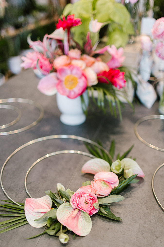 tropical flamingo themed party via laurenconrad.com
