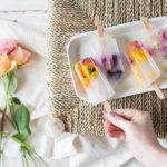 Recipe Box: Edible Flower Popsicles