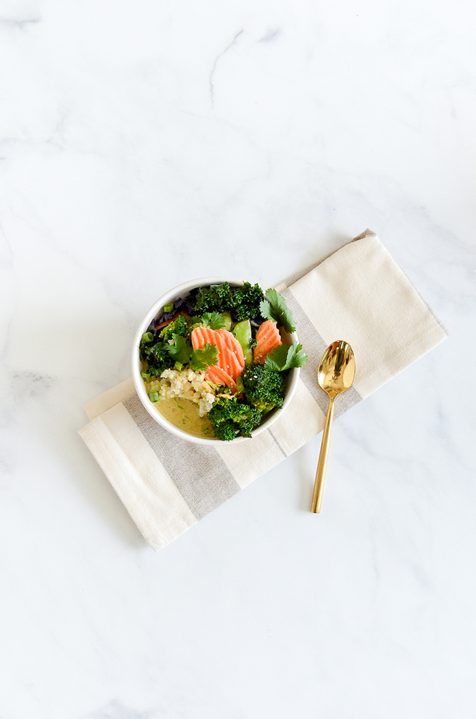 Recipe Box: Be Well By Kelly Cauliflower Rice Vegetable Curry Bowl