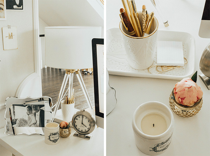 creative studio bungalow tour via laurenconrad.com