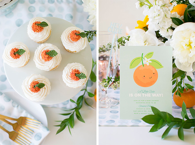 hey cutie! baby shower theme via black twine and twinkle twinkle little party