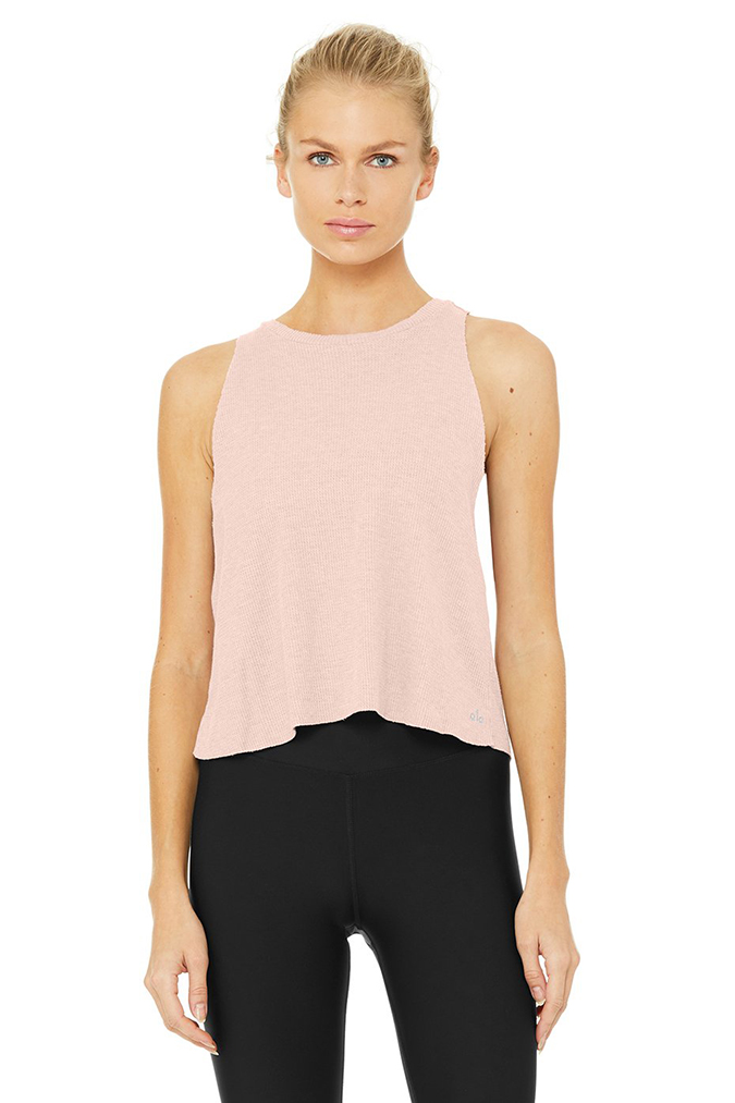 alo yoga flow thermal top