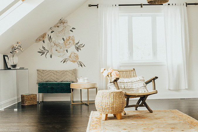 creative bungalow home tour via laurenconrad.com