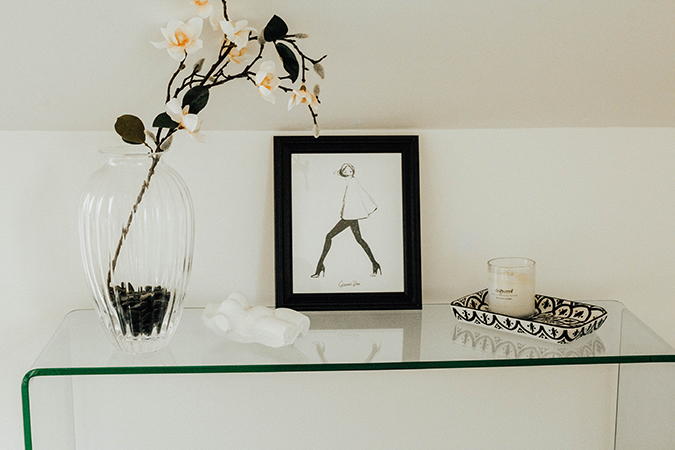 creative bungalow studio tour via laurenconrad.com