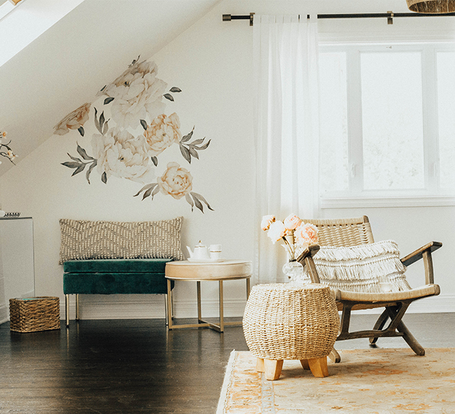 Home Makeover: A Beauty Blogger's Creative Bungalow