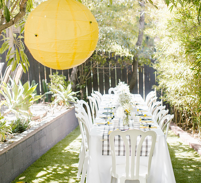 Party Planning: A Bee-Themed First Birthday Party